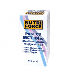 Nutriforce Pure C8 MCT Olie