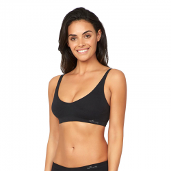 Shaper crop bra-/ m m black