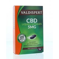 CBD 5 mg liquid caps