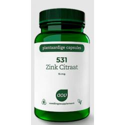 531 Zink citraat 15 mg