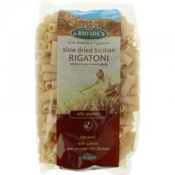 Quinoa rigatoni pasta