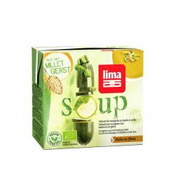 Veloute courgette basilicum