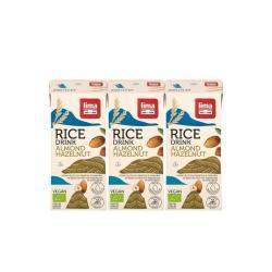 Rice drink hazelnoot-amandel 200 ml