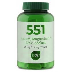 551 Calcium magnesium zink pidolaat