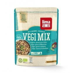 Vegi mix bulgur quinoa kikkererwten
