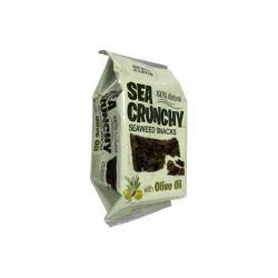 Nori zeewier snack met olijf olie