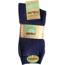 Thermo sokken 39-42 blauw
