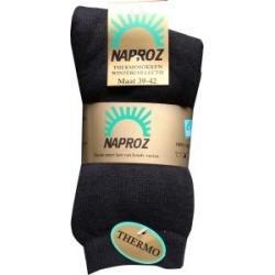 Thermo sokken 39-42 zwart