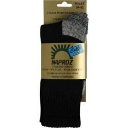 Thermo loop wandel sport sokken blauw 35-38