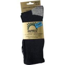 Thermo loop wandel sport sokken blauw 43-46