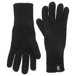 Mens gloves S/M black