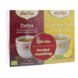 Yogi detox&ginger lemon bio-