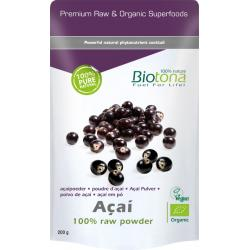 Biotona acai raw powder    bio