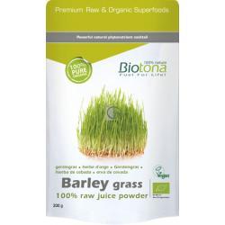 Biotona barley grass raw bio