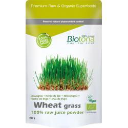 Biotona wheat grass raw    bio