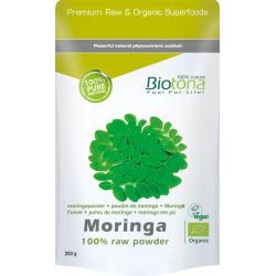 Biotona moringa raw powder bio