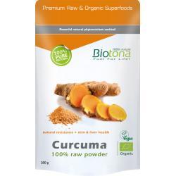 Biotona curcuma raw powder bio