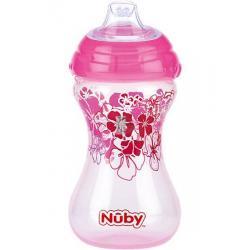 Nuby cup flip it roze