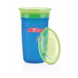 Nuby beker 360 wonder blauw