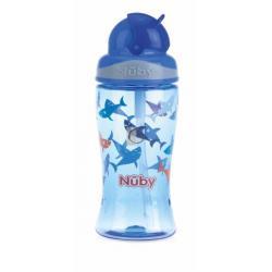 Nuby flip it tritan beker blue