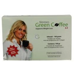 Groene afslank koffie