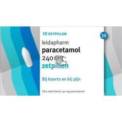 Leida paracetamol zetpil 240mg