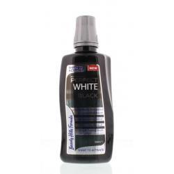 Perfect white black sensitive mouthwash