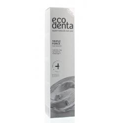 Tandpasta extra triple effect witte klei