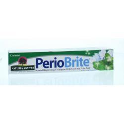 Periobrite natuurlijke tandpasta 22 kruiden en Q10