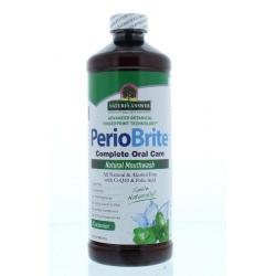 PerioBrite natuurlijke mondwater 25 kruiden en Q10
