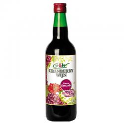 Kruiden cranberry wijn