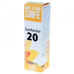 One a day safe Sunfactor 20