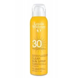 Clear sun spray 30 SPF...