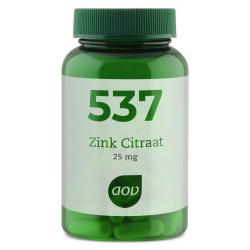 537 Zink citraat 25 mg