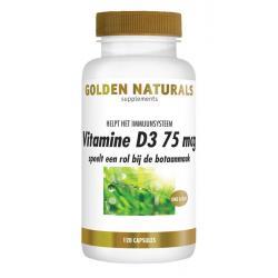 Vitamine D3 75 mcg