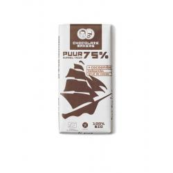 Tres hombres 75% cacaonibs bio