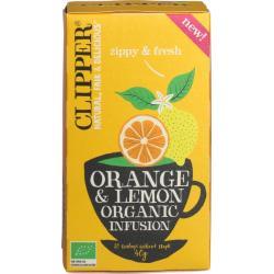 Orange & lemon infusion bio