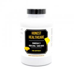 Honest Healthcare Omega 3 Visolie forte 1000 mg 180 softgels